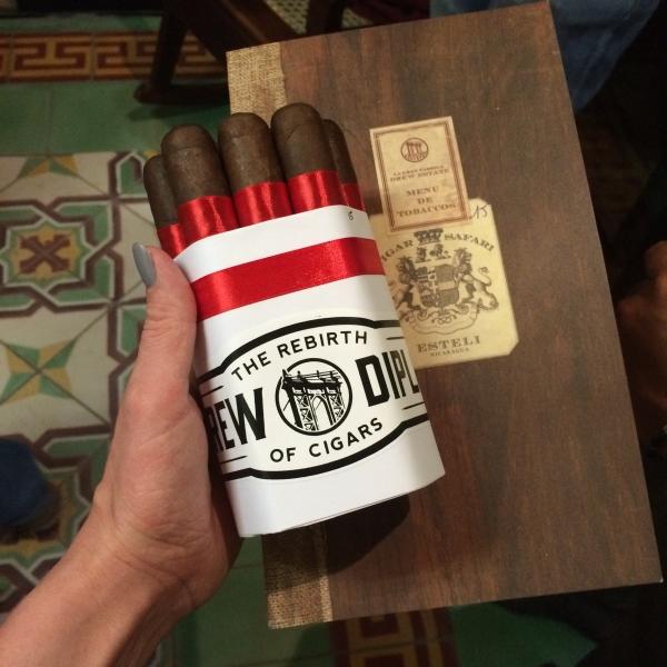 cigar safari drew estate