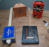 guitar cigar box
