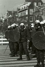 Photo on canvas: Squatters Riots No. 2