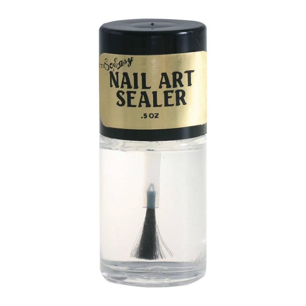 So Easy Nail Art Sealer - Nail Discount
