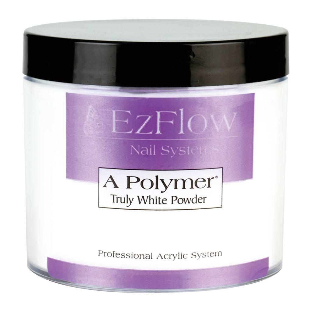 Ez Flow A-Polymer Truly White 21g - Nail Discount