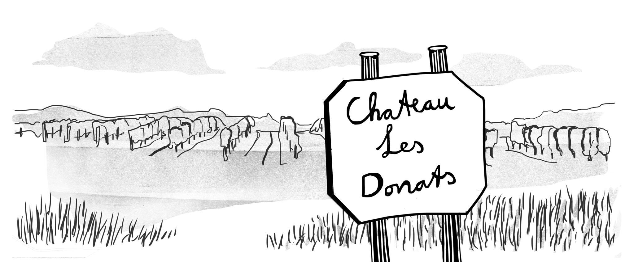 Bergerac Les Donats wijnen