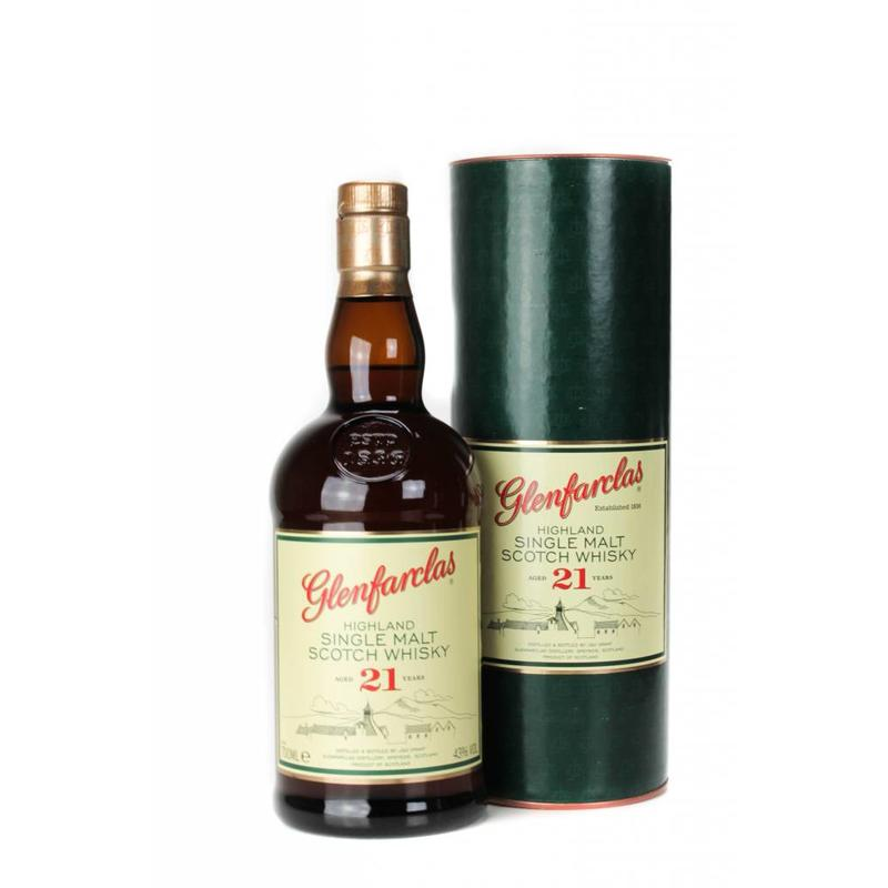 Glenfarclas Single Malt Whisky 21 Years Old