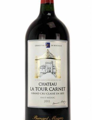 Bernard Magrez Château La Tour Carnet - Grand Cru Classé 2011 Magnum