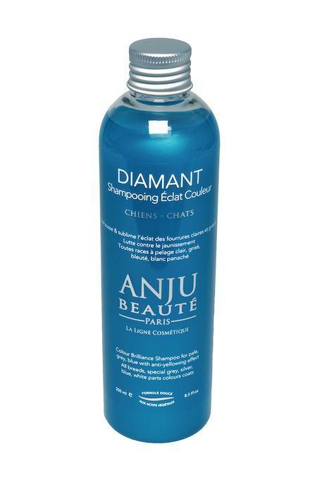 Anju Beauté Diamant, voor alle (gedeeltelijk) witte, blauwe, lila en zilveren vachten.