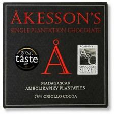 Akesson's Dunkle Schokolade 75% Madagascar Bejofo Estate Criollo