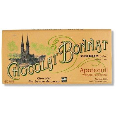 Bonnat Dunkle Schokolade 75% Apotequil