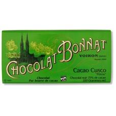 Bonnat Dunkle Schokolade 75% Cacao Cusco