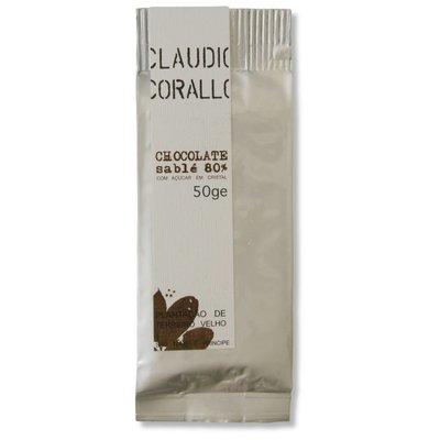 Claudio Corallo Chocolate 80% sablé