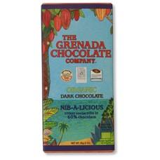 Grenada Chocolate Company Dunkle Bio-Schokolade 60% - Nib-a-Licious
