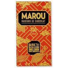 Marou Dunkle Schokolade 76% Ba Ria