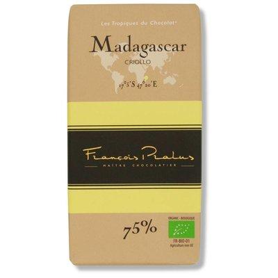 Pralus Dunkle Bio-Schokolade 75% Madagascar