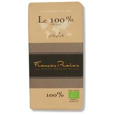 Pralus Dunkle Bio-Schokolade 100% Kakao