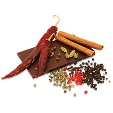 Würzige Schokolade