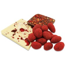 Schokolade mit Früchten