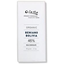 Oialla Bio Milchschokolade Beniano Bolivia 46%