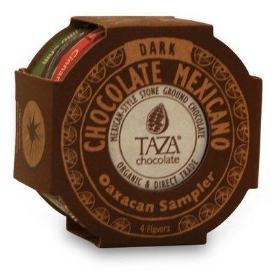 Taza Chocolate Dunkle Bio-Schokolade Oaxacan Sampler