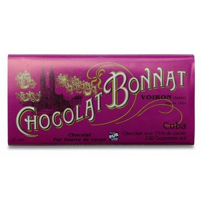 Bonnat Dunkle Schokolade 75% Cuba