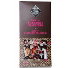 Michel Cluizel Dunkle Schokolade 72% Framboise Cranberry