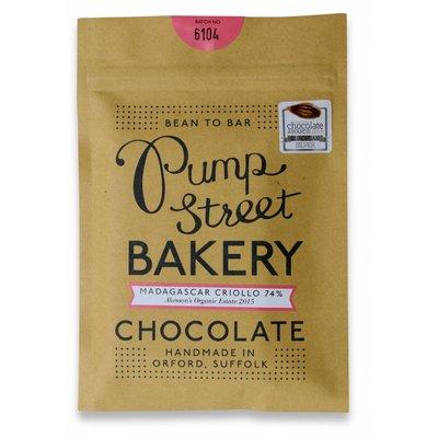 Pump Street Bakery Dunkle Schokolade Madagascar Criollo 74%