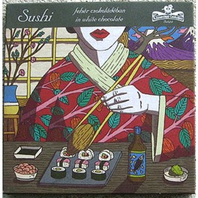 Rózsavölgyi Csokoládé Weiße Schokolade Sushi