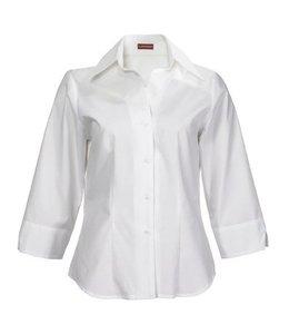 Image UITVERKOOP - Dames blouse met 3/4 mouw en V-manchet - CAMPANIA