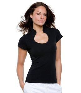 Kustom Kit Dames t-shirt met korte mouw - NEKI