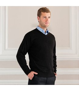 Russell collection PULLOVER GEBREID MET V-HALS VOOR HEREN - XAVIER