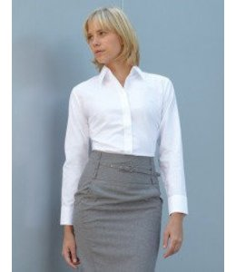Fruit of the Loom DAMES OXFORD BLOUSE - AMADEA