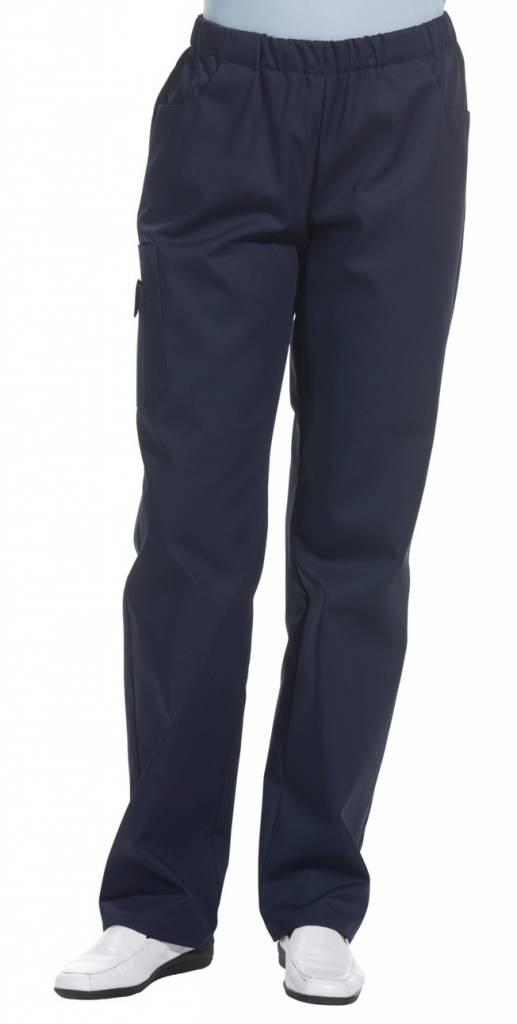 Unisex broek EMRAK met elastiek rondom   QS Bedrijfskleding