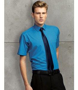 Premier Heren overhemd met korte mouwen, popeline - AVERIL