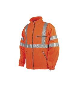 Sioen signalisatie dubbelzijdige fleece jas - REIMS