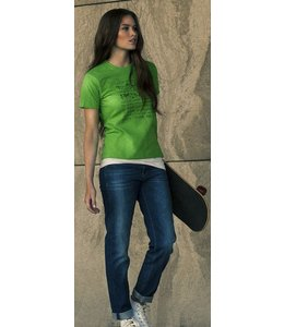 Printer Dames t-shirt - ELINE