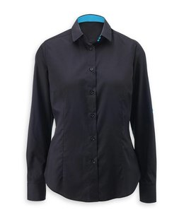 Alexandra Dames blouse met contrastkleur CAMERON