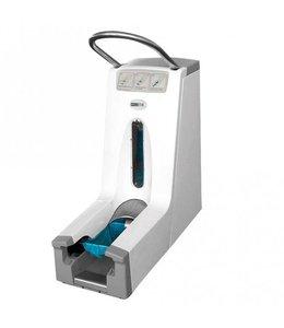 Hygostar Overschoen dispenser Hygomat - CLEANROOM