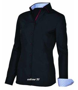 Giovanni Capraro Italiaans design dames blouse VITALIA