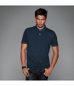 B & C Denim polo voor heren - BALTORO