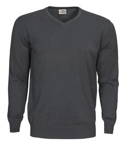Printer heren gebreide pullover- MARCO