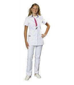Haen Dames tuniek wit met kleurdetails - PEGGY