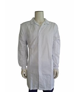 BASIC Food stofjas polyester/katoen met tricot manchetten - AUSTIN