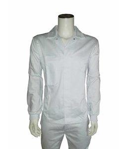 BASIC Food jasje polyester/katoen met tricot manchetten - LUNSAR