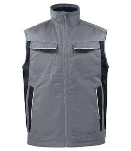 Prio/Projob warm gevoerde service vest/bodywarmer in een easycare materiaal polyester/katoen- KEANO