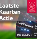 Laatste Kaarten Actie: Ajax - Excelsior (14 december)