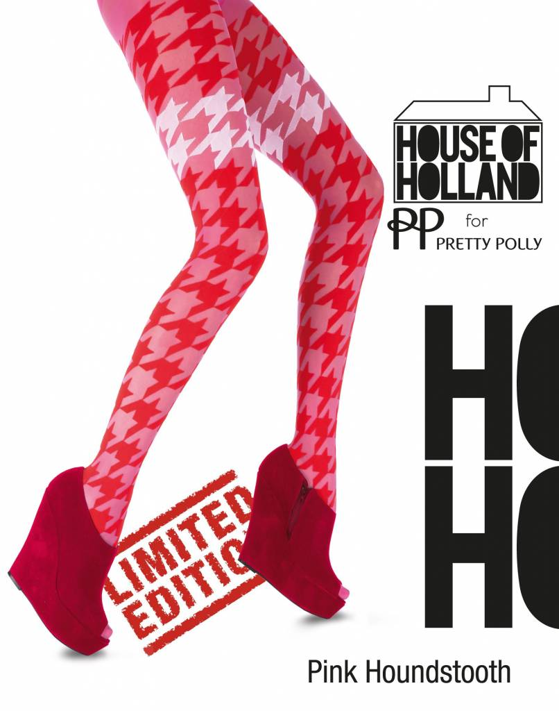 House of Holland Dog Tooth Tights