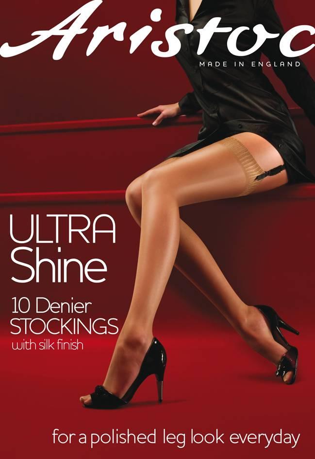 Aristoc 10D. Ultra Shine Kousen