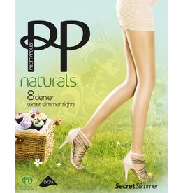 "Pretty Polly 8D. ""Naturals"" Secret Slimmer Summe Tights"