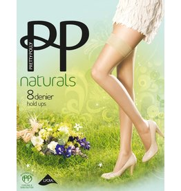 "Pretty Polly Zomer hold ups 8D. ""Naturals"""
