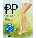 "Pretty Polly Panty met sandal toe in 8D. ""Naturals"" kwaliteit"