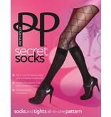 Pretty Polly Fashion Model Sock Tights