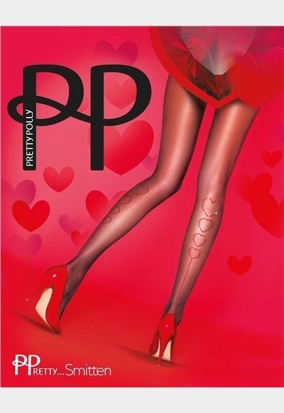 Pretty Polly Hearts Back Tights